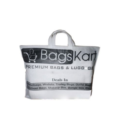 Non Woven Loop Handle One Color Printed Bag   ID: 20857474133