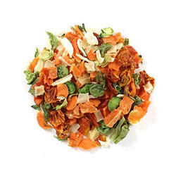 Euro Foods Dehydrated Vegetables mix, Packaging Size: 10 Kg, Packaging: Plastic Bag or Polythen