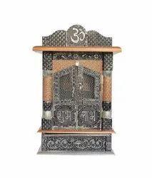 Shubh Labh Meenakari Aluminum Temple