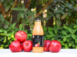 Pristine 100% Pure Apple Juice, Packaging Type: Glass Bottle, Packaging Size: 500 ml
