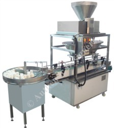 Automatic Two Head Auger Filler Machine