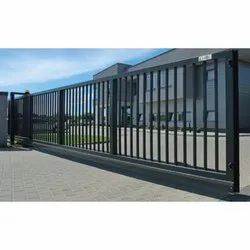 Outdoor MS Industrial Sliding Gate