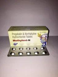 Pregabalin 75 mg Nortriptyline 10 mg