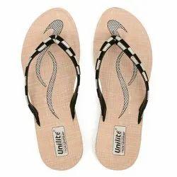 Women Black White PVC Fashion Slippers