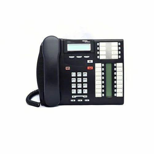 Nortel T7316e Nt8b27janae6 Business Phone Charcoal Norstar Digital Phone