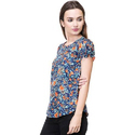 Phonic Cotton Ladies Floral Printed Tops
