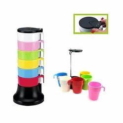 Rainbow Cup Set