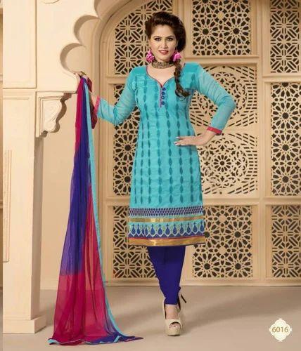 Turquoise Silk Dress