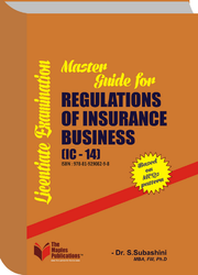 Master Guide For Regulations Of Insurance Business (IC-14) Feb-18 Edition Book