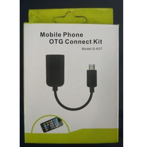 Black S-K07 Mobile Phone OTG Connect Kit