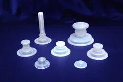 Transparent Silicone Diaphragms