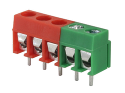 126/2 2 Pin Connector / 3 Pin Connector PCB Mount Connector
