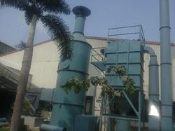 Cartridge Dust Collector And Scrubber