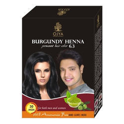 Henna and Herbs Mix Hair Burgundy Color