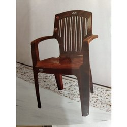 Brown Plastic Chair