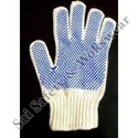 SS & WW Make White On Blue Dotted Hand Gloves 40-45 Gram