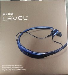 Plastics Neck Band Samsung Level U Bluetooth Stereo Headset, Weight: Light Weight, Bluetooth Mode: 5.0