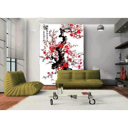3D Tree Wallpaper, 3d Wallpaper - Angel Wall Decor, Nagpur | ID ...