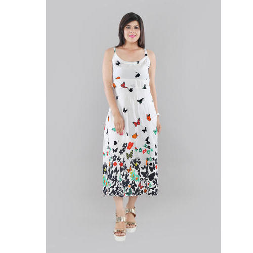 Large Printed Women  s Long Midi Dress b5240d7d1