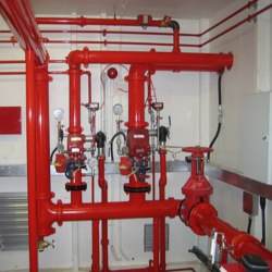 Mild Steel Fire Protection System