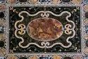 Marble Coffee Center Table Top Rare Inlay
