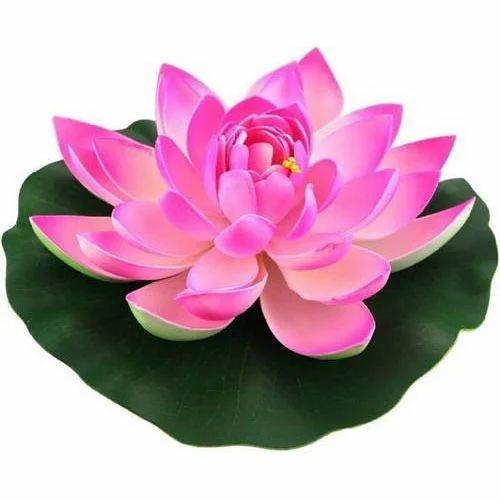 Pink Lotus Artificial Flower Rs 120 Piece Kvm Nursery Id