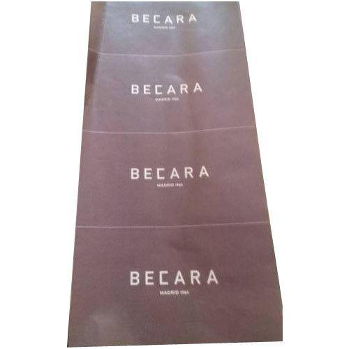 Satin fabric sticker printing services