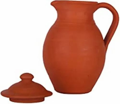 Limitless Hunch Red Hand Made Clay Jug