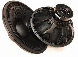 Aluminium Black Dasska DX 18115N 18 Inch DJ Speaker 1600W, Rms -1600, Peak- 3000