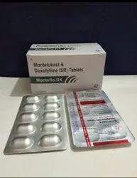 Doxofylline 400mg and Montelukast 10mg Tablet
