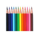 Pathshala Polymer Color Pencil, For Coloring, Packaging Size: Box