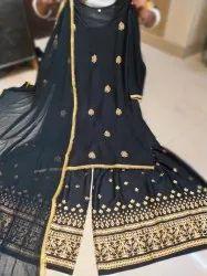 Stitched Kurti Sharara Dupatta