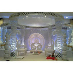 Crystal Wedding Mandap