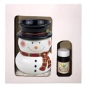 Ceramic Snowman Electric Diffuser