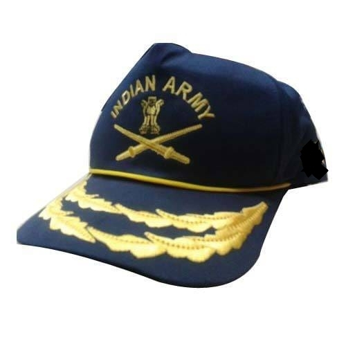 ab7798425e556 Unisex Free Indian Army Officer Caps