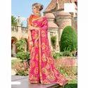 Ladies Fancy Chiffon Bandhani Saree