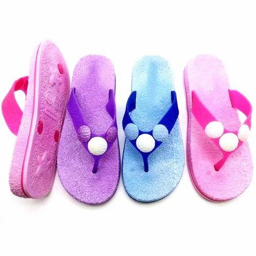 Ladies Bathroom Slippers, Size: 36 41