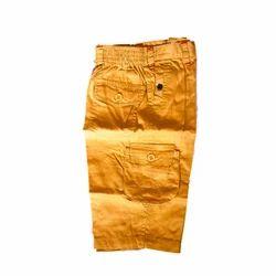 Boys Plain Kids Short Pant