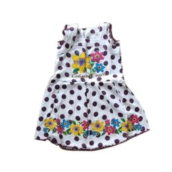 Kids Casual Cotton Frock, Age: 6-12 Year