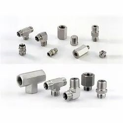 Steel Instrumentation Tube Fittings