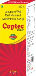 Lycopene Syrup with Vitamins And Minerals