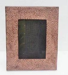 Metallic designer photo frame