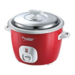 Prestige Capacity(Litre): 1.8 Litres Delight Electric Rice Cooker Cute 1.8-2, Warranty: 1 Year, Red