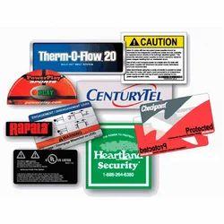 Decals PVC Labels