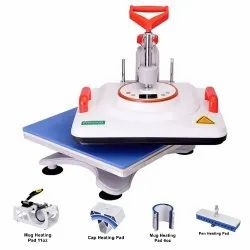 Combo Heat Press Machine - 5 in 1 (White)