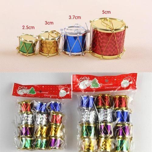 Christmas Drum.Christmas Tree Decoration Drum