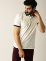 Cream Polo Type T-Shirts