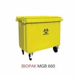 660L Biopak Waste Bin