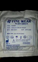 Disposable Hospital Plain Sheet