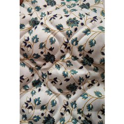 Floral Printed Polyester Quilted Mattress Fabric